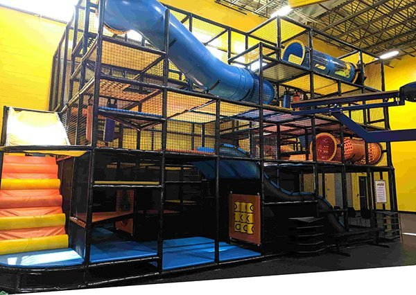 Reverse Soft Play Attractions | ClimbZone Howell