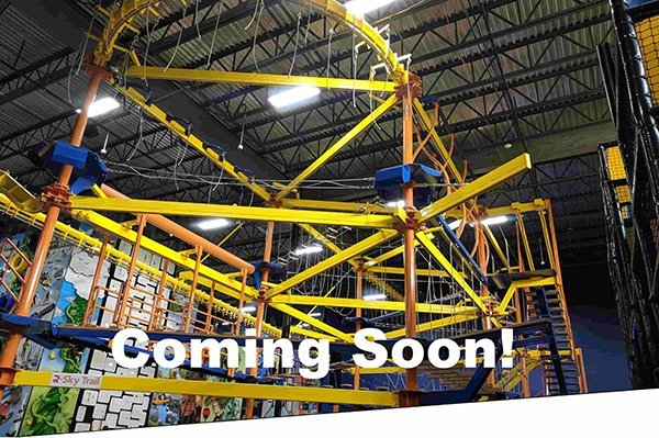 Indoor Ropes Course - ClimbZone Howell