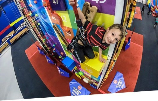 Indoor Kids Climbing Walls - ClimbZone Howell