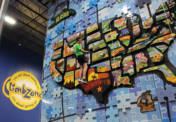 ClimbZone USA | Indoor Kids Rock Climbing Gym