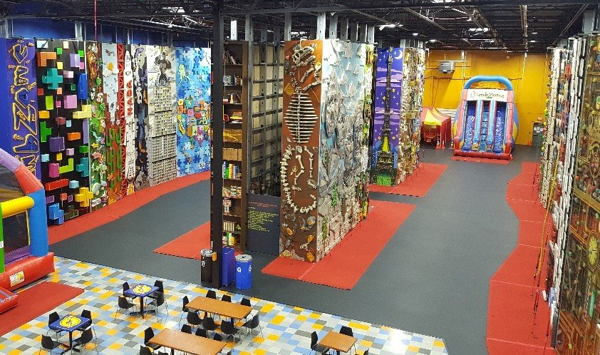 ClimbZone Laurel | Indoor Kids Climbing & Family Entertainment Center